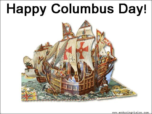 Columbus Day Clip Art for Pinterest